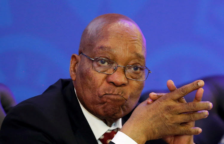 President Jacob Zuma. Picture: REUTERS