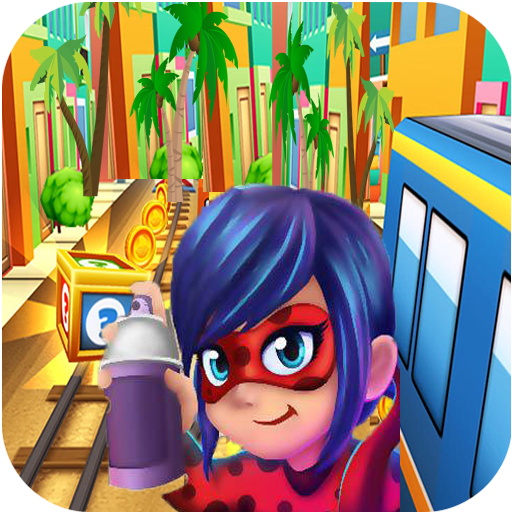 Subway Miraculous Surf Run  - ladybug Adventure