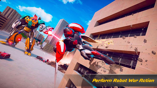 Flying Elephant Robot Transform: Flying Robot War 1.1.1 Screenshots 17