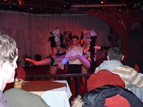 Photo: Beijing - TB dinner in russian restaurant Elephant, evening show with dancers