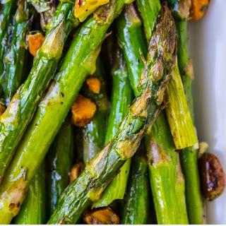 Lemon Asparagus with Pistachios Recipe