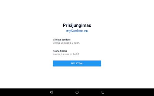 myKanban.eu - náhled