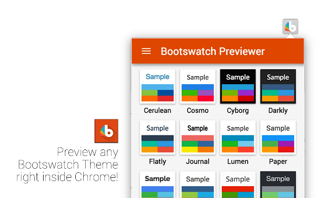Bootswatch Previewer