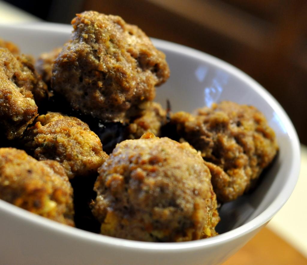 Basic Baked Meatballs