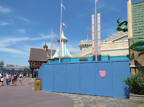 Photo: Sad to see it go, but Snow White's Scary Adventrues had to make way for a Princess Meet & Greet