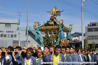 Photo: 【平成21年(2009) 本宮】  快晴のもと、亀ヶ池八幡宮に向かう。