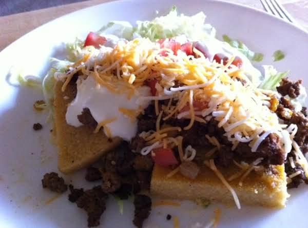 Pam's Polenta Taco Salad Recipe