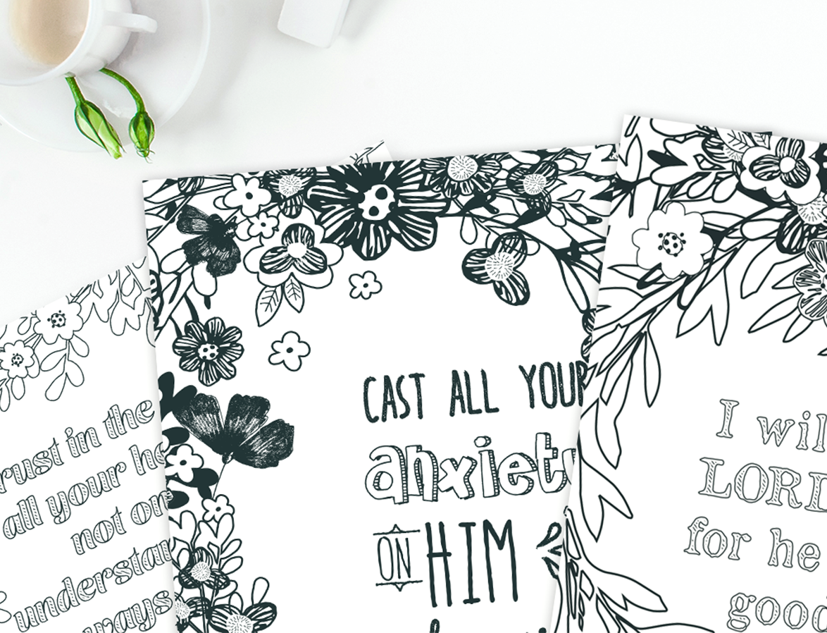 4 Free Scripture Coloring Pages