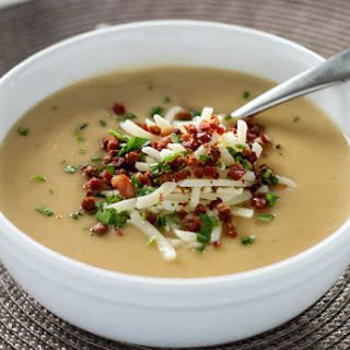 Potato Soup with Crispy Pancetta