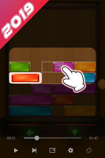 Falling Box Puzzle 2019 - screenshot