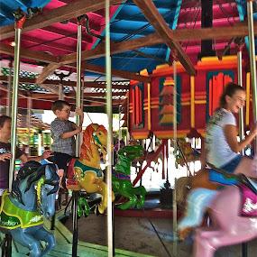 Carousel by Crystal Gibson - Babies & Children Children Candids
