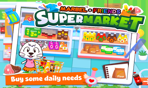 Marbel Supermarket Kids Games apktram screenshots 7