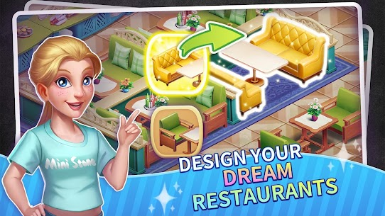 My Restaurant Empire MOD APK 0.5.04 [Unlimited Diamonds] 4