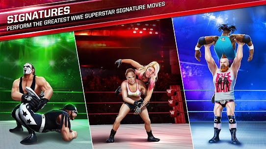 WWE Mayhem Mod APK (Unlimited Gold, Unlock) 1.31.145 for Android 2