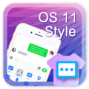 OS 11 style for Handcent Next SMS