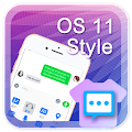 OS 11 style for Handcent Next SMS APK