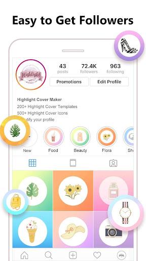 Foto do Highlight Cover Maker for Instagram Story