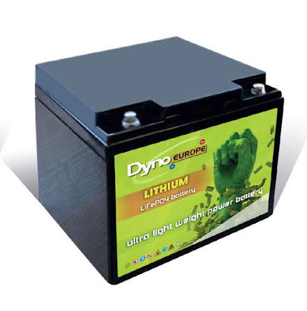 LiFePO4 batteri 12,8V/24Ah