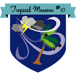 Button Tropical Monsoon #10