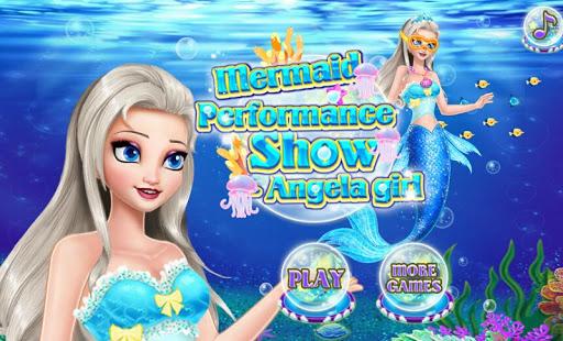 Mermaid Show Angela Girl