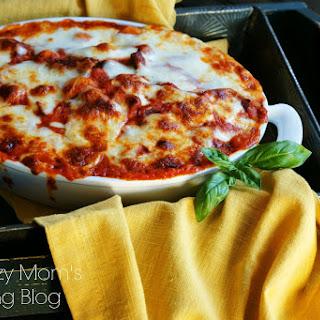 Baked Gnocchi in Marinara.
