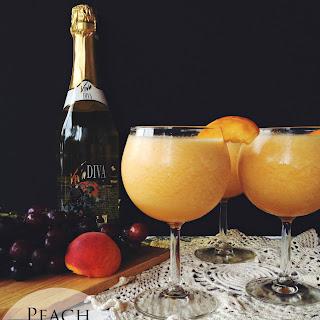 Peach Moscato Slushie