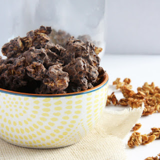 Chocolate Covered Granola Clusters