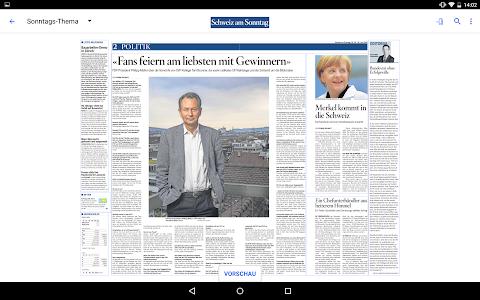 Schweiz am Sonntag - E-Paper screenshot 6