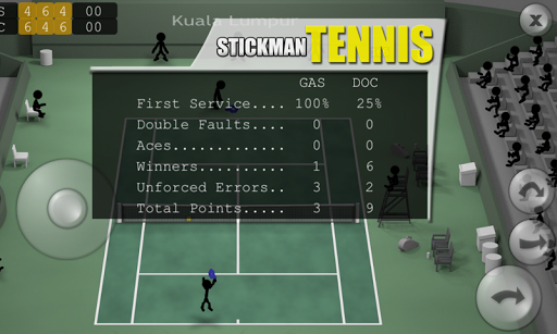 Stickman Tennis apkpoly screenshots 5