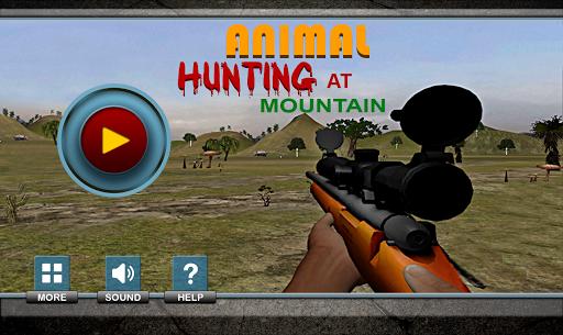 マウンテン動物狩猟