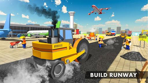 Vegas City Runway - Build and Craft screenshots apkspray 1