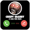 Chat And Call Simulator For Creepy Granny's - 2019 icon