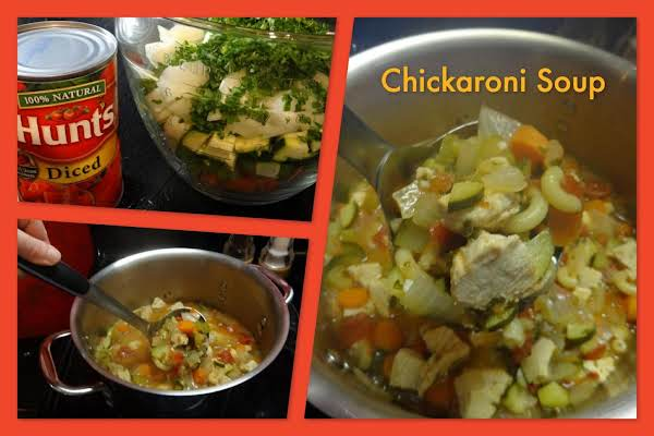 Chickaroni Soup Recipe