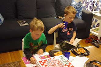 Photo: Library pizza night