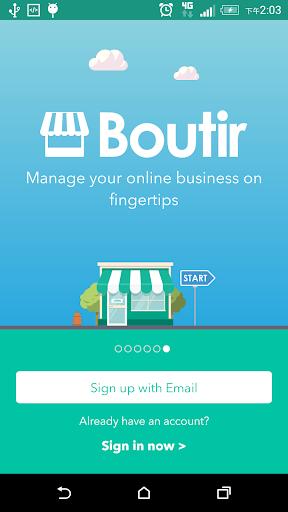 Boutir The OnlineStore Builder