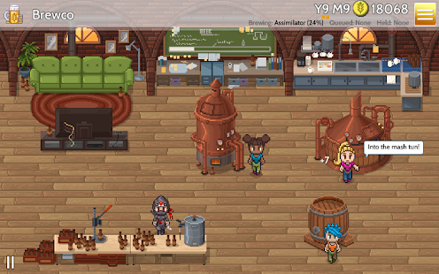 Fiz : Brewery Management Game Screenshot