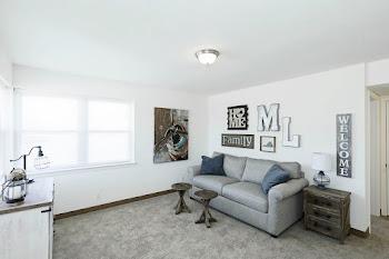 Go to Two Bedroom Duplex Floorplan page.