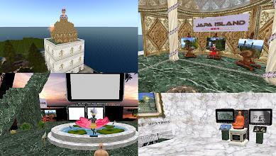 Photo: Japa Island =  http://maps.secondlife.com/secondlife/FruitIslands%20SL9B%20Fun/184/36/22