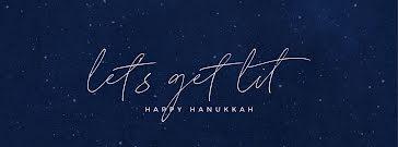 Let's Get Lit - Hanukkah Template