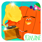 Music Store - Fruits Vs Veggies - Kids Music game icon