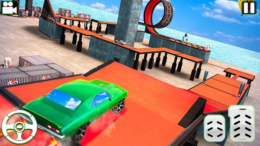 Code Triche Nouveau voiture conduite impossible voiture course apk mod screenshots 4