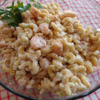 Pasta Salad With Shrimp And Mayonnaise Recipes.