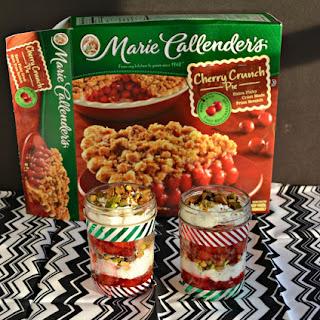 Holiday Cherry Pie Parfaits