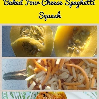 Baked Spaghetti Squash with Cheese