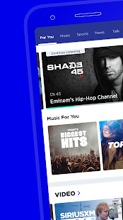 SiriusXM: Music, Radio, News & Entertainment Screenshot