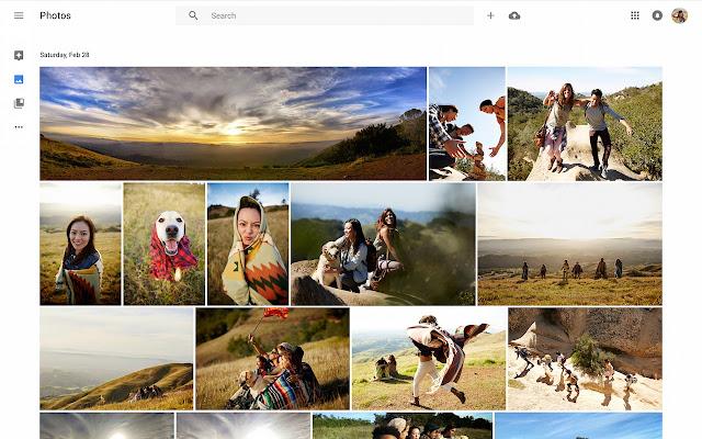 Google Photos chrome extension