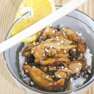 Fast & Easy Asian Orange Glazed Chicken