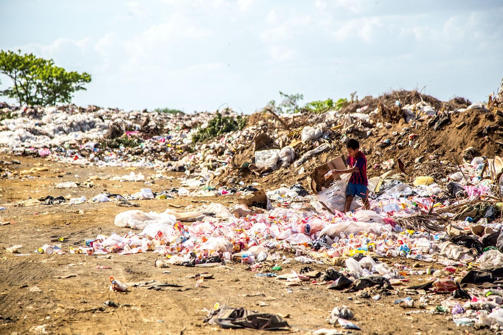 littered-plastic-bottles