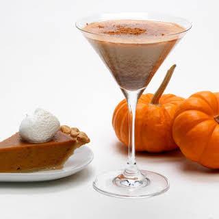 RumChata Pumpkin Pie Martini.