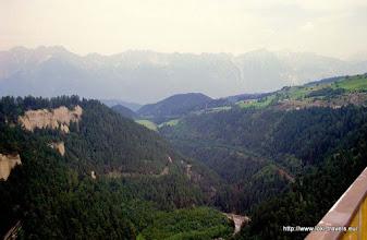 Photo: 22 juli. Oostenrijk. Uitzicht vanaf de Brennerpas.